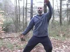 Tai Chi Silk Reeling Basics : Two-Handed Backward Tai Chi Silk Reeling - YouTube