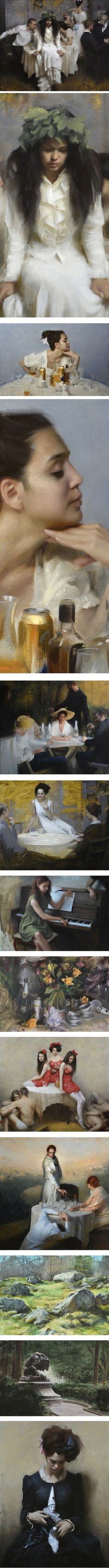 Nick Alm   Lines and Colors :: a blog about drawing, painting, illustration, comics, concept art and other visual arts