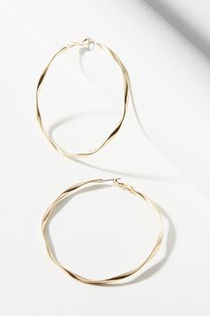 Shop the Twisted Hoop Earrings and more Anthropologie at Anthropologie today. Read customer reviews, discover product details and more.