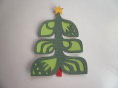 Paper piecing Scandinavian tree