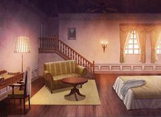Room Background Anime Scenery Visual Novel