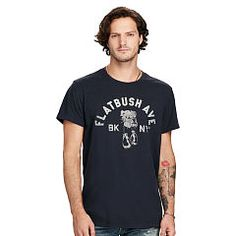 Cotton Jersey Graphic Tee - Denim & Supply T-Shirts - Ralph Lauren Germany