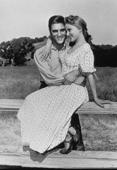 LOVE ME TENDER (1956) - Elvis Presley & Debra Paget - Directed by Robert D. Webb - 20th Century-Fox - Publicity Still.