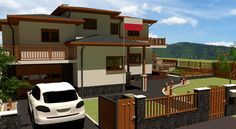 house, design, model, single-family house, 4 bedrooms house, project