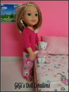 Handmade Doll PJ's fits 14.5 inch dolls by GiGisDollCreations