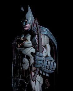 Batman by John Romita Jr and Danny Miki.