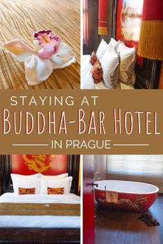 """Looking for a unique place to stay in Prague? Buddha-Bar is an asian themed """"voyage within a voyage hotel"""" that is centrally located and features luxurious amenities. #Prague #BuddhaBar"""