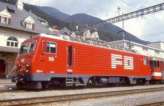 HGe 4/4 II 108 (Foto: Manfred Möldner) Locomotive, Trucks, Train, Vehicles, Photo Illustration, Truck, Zug, Rolling Stock, Locs