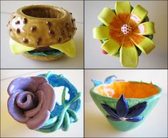 Pinch Pots. . .The sophisticated way for the intro to ceramics Middle School student.