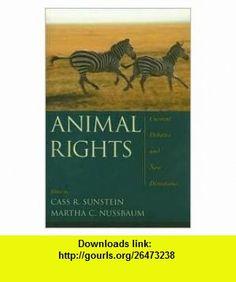 Animal Rights Publisher Oxford University Press, USA Cass R. Sunstein ,   ,  , ASIN: B004PVNDUO , tutorials , pdf , ebook , torrent , downloads , rapidshare , filesonic , hotfile , megaupload , fileserve