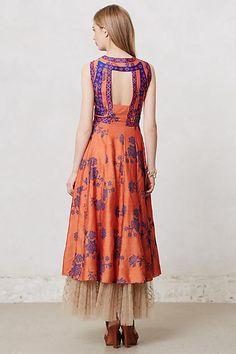 Netted Kerala Maxi Dress - by Pyal Pratap anthropologie.com