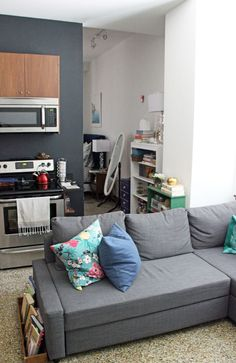 My Furnished Studio Apartment Tour Part 1