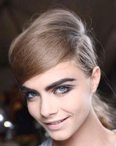 The Bold and Beautiful Brows at Marc Jacobs - Best Spring 2013 Fashion Week Makeup Looks