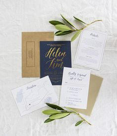 Going for a garden-party wedding? Then, this invite is perfect for you.