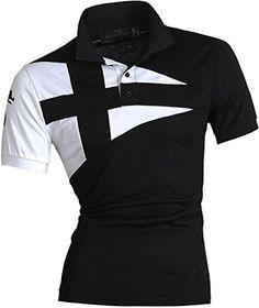 jeansian Men's Casual Slim Fit Short Sleeves Polo Shirt T-Shirt Tops U009 Black S jeansian http://www.amazon.com/dp/B01A6OW6FQ/ref=cm_sw_r_pi_dp_nR3Iwb05JB22P