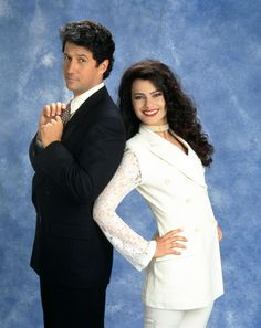 Maxwell Sheffield & Fran Fine in the Nanny