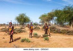 Young Hamer Tribe Women, Turmi, Omo Valley, Ethiopia Stock Photo - Alamy Large Women, Ethiopia, Africa, Country Roads, Stock Photos