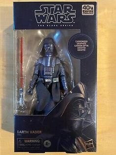 Starwars Toys, Star Wars Gifts, Black Series, 40th Anniversary, Action Figures, Darth Vader, Stars, Amazon, Box