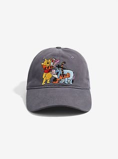Disney Winnie The Pooh Group Dad Hat - BoxLunch ExclusiveDisney Winnie The Pooh Group Dad Hat - BoxLunch Exclusive,
