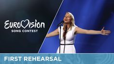 Eurovision 2016 - ManuElla - Blue and Red (Slovenia) First Rehearsal
