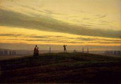 Caspar_David_Friedrich_-_Der_Abendstern_ca.1830.jpg (1837×1284)