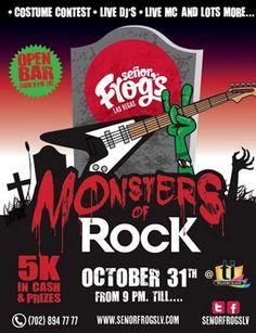 Señor Frog's Las Vegas hosts Halloween weekend fiesta Oct. 31 – Nov. 1