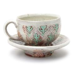 Lyla Goldstein Shop: Cup and Saucer - The Clay Studio