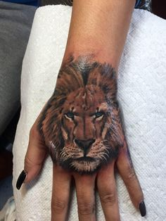 1000 images about tattos on pinterest hamsa tattoo for Finger lion tattoo