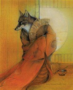 Inari ~ artist Susan Seddon Boulet
