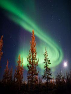 Sweden Sky Aurora Borealis