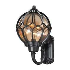 "Elk Lighting 87022/1 Madagascar - 19"" One Light Outdoor Wall Sconce"