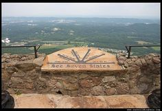 lovers leap georgia see seven states!
