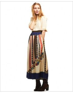 Tecumesh Valley Long Skirt