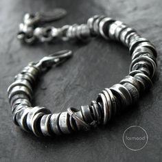 Sterling silver - bracelet by studioformood on Etsy https://www.etsy.com/listing/286482815/sterling-silver-bracelet