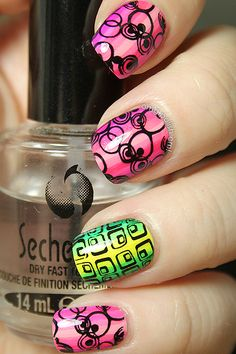 (This theme is going to be a fave.) Polish Days: Geometry   From Polish 'em!