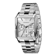 Emporio Armani Classic Chronograph Silver Dial Mens Watch AR0483 Emporio Armani. Save 20 Off!. $277.57. Steel Bracelet Strap. Chronograph Display