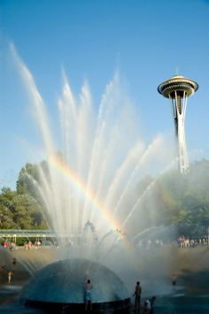 Space Needle Fountain