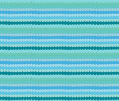 Waves fabric by costumewrangler on Spoonflower - custom fabric