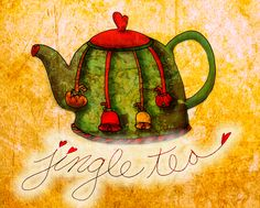 Jingle tea! Jingle bells, jingle bells, jingle all the way! What my #Tea says to me December 9th, Enjoy a cup of festive, Jingle Tea! Cheers :)
