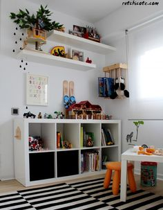A designated playroom is a great way to give your child plenty of room to play, but playroom storage that … Childrens Bedroom Storage, Playroom Storage, Boys Bedroom Decor, Girls Bedroom, Childrens Bedrooms Boys, Children Storage, Big Boy Bedrooms, Trendy Bedroom, Bedroom Ideas
