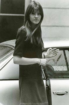 """ Françoise Hardy photographed by Patrick Bertrand, 1964 """