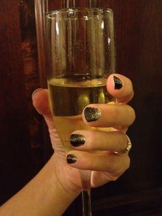 Jamberry Nails Midnight Celebration