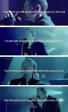 Powerless lyrics - Linkin Park
