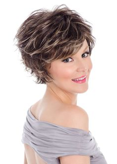 Find the Kenzie Wig by Tony of Beverly along with a wide selection of major brand wigs, hairpieces, hair extensions, hair enhancers & wig care products Feathered Hairstyles, Cute Hairstyles, Hair Toppers, Short Hair Wigs, Short Styles, Soft Hair, Synthetic Wigs, Fall Hair, Face Shapes