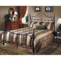Bennett Antique Bronze King Complete Bed