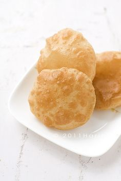 Puri | Deep-fried, wholewheat,Indian bread