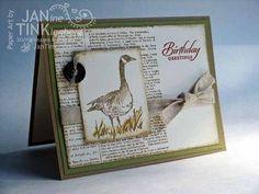 Stampin' Up! Wetlands Masculine Card
