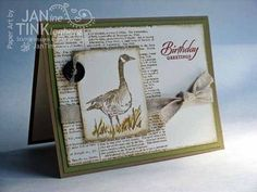 Stampin' Up! Wetlands Masculine Card