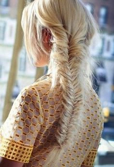 Fishtail Braids Hairstyle