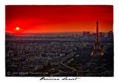 My good friend from HS is a very talented photographer!    Paris sunset  www.ryanfoto.com